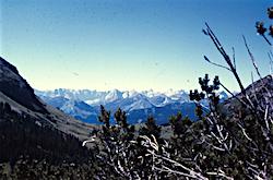 Alpen Ansicht